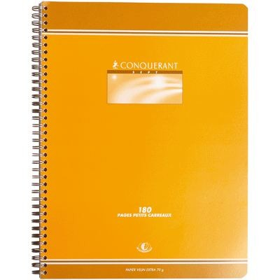 CAHIER SPIRALE 24*32 180PAGES 70GRS  Q5*5
