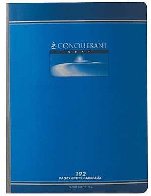 CAHIER BROCHE 24*32 192PAGES 70GRS Q5*5