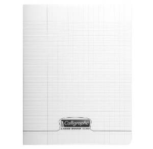 CAHIER PIQUE 24*32. 96PAGES INCOLORE SEYES 8000 POLYPROPYLENE