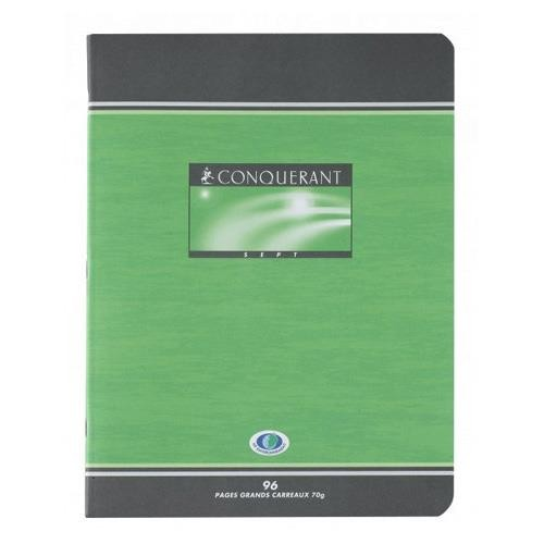 CAHIER PIQUE 17*22 96PAGES SEYES 70GRS