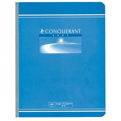 CAHIER BROCHE 17*22 192PAGES SEYES 70GRS
