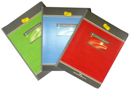 CAHIER PIQUE 17*22 140PAGES 70GRS SEYES
