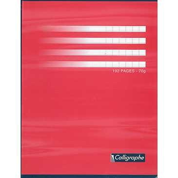 CAHIER COLLE 17*22. 192PAGES SEYES 70GRS