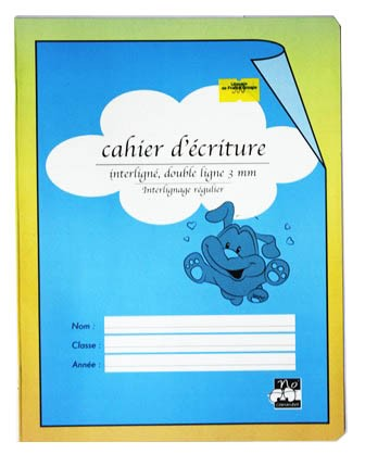 CAHIER PIQUE 17*22 32PAGES DL3MM
