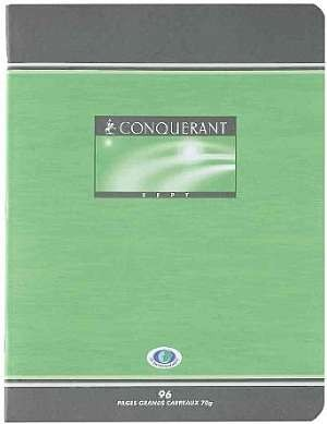 CAHIER PIQUE 17*22 48PAGES SEYES 70GRS