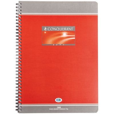 CAHIER SPIRALE A4 180PAGES 70GRS SEYES