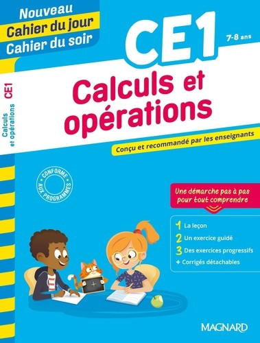 CALCULS ET OPERATIONS CE1, 7-8 ANS