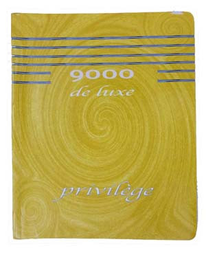 CAHIER COLLE 17*22 .288P SEYES PRIVILEGE