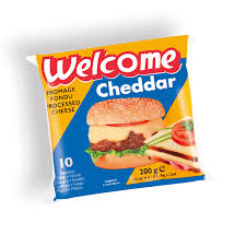 Fromage Welcome  Cheddar  Tranches 10x200g