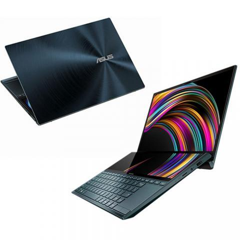 "Ordinateur Portable PC Asus Zenbook Duo UX481 - 512Go SSD - 16Go Ram - 14"" - Core I7 - Win10"