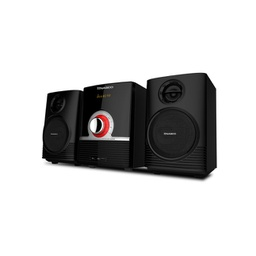 [HIFI_SN-S638B] Mini Chaîne Nasco- SN-S638B - 2 Baffles - Usb - Radio Fm - MP3 - CD - DVD