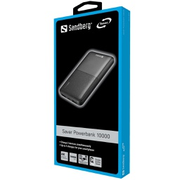[Item no. 320-34] Saver Powerbank Sandberg 10000 mAh USB