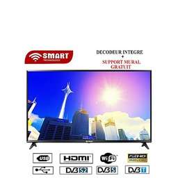 [32STT-5532SE] Télévision 32''HD LED TV Smart+ SUPPORT T2+S2+WIFI Smart Technology