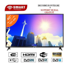 [65STT-9065S] Téléviseur-Smart Technology 65'' LED TV 4K2K SMART+ WALL MOUNT