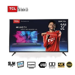 "[TCL-TV32DOLB] Télévision TCL Slim TV 32"" - DTV - Dolby Audio - MP3 - Port HDMI - USB"