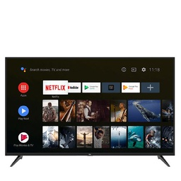 [TCL-TV65SA] Télévision TCL TV LED 65'' - 4K-Uhd - Android - Hdr - Netflix - Google Play - YouTube - Bluetooth